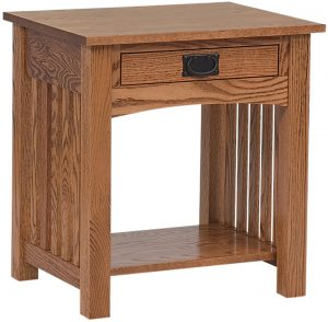 Schwartz Mission Open Nightstand