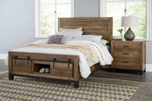 Sonoma Black Base Bedroom Collection