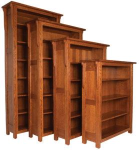 Boston 48 Inch Bookcase