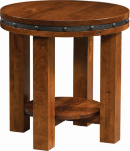 Round Pasadena End Table