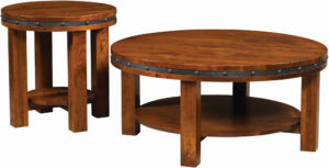 Pasadena Round Occasional Table Collection