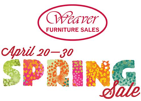 Weaver Furniture Spring Sale