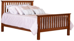 Classic Briar Mission Bed