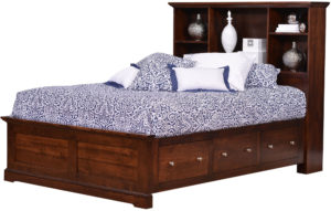 Latrobe Springs Bookcase Bed