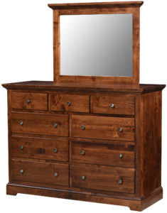 Latrobe Springs Nine Drawer Dresser