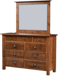 Loretta Nine Drawer Dresser