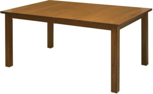 Mission Leg Square Dining Room Table