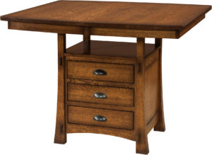 Modesto Cabinet Dining Table