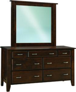 Ashton 7 Drawer Wide Dresser