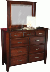 Ashton 9 Drawer Mule Dresser