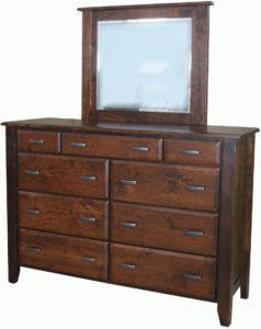 Ashton 9 Drawer Wide Mule Dresser