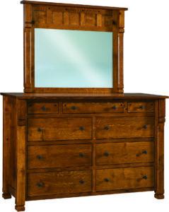 Brockport 9 Drawer Mule Dresser