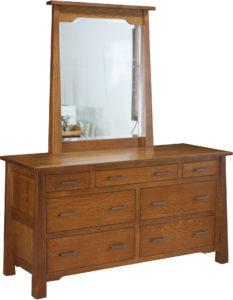 Cambridge 7 Drawer Dresser