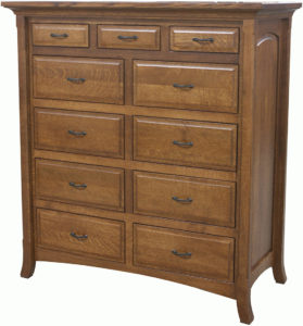 Homestead 11 Drawer Mule Dresser