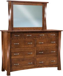 Lexington 9 Drawer Mule Dresser