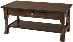 Lexington One Drawer Coffee Table
