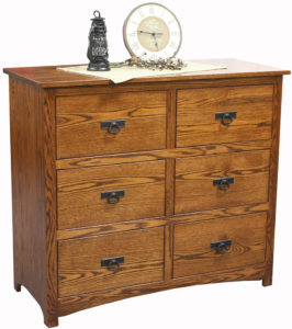 Shaker 6 Drawer Mule Chest