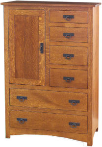 Shaker 6 Drawer Gentlemen's Chest