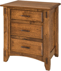 Tacoma Wide Nightstand