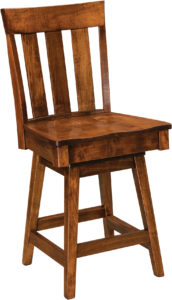 Glenmont Hardwood Swivel Bar Stool