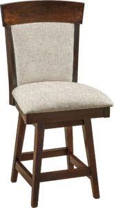 Riverside Hardwood Swivel Bar Stool