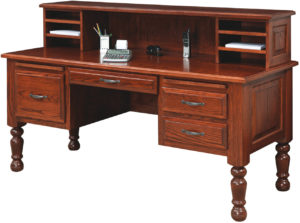 American Traditional Laptop Desk with Cubby