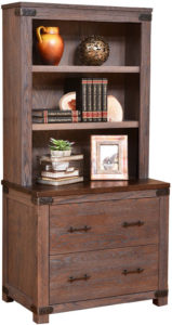 Georgetown Lateral File and Bookshelf