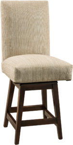 Sheldon Hardwood Swivel Bar Stool