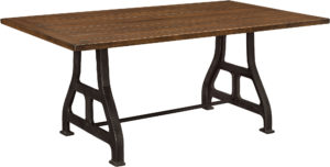 Iron Forge Dining Table