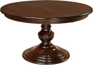 Kingsley Single Pedestal Kitchen Table