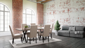 Xavier Trestle Table Dining Set