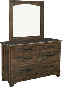 Farmhouse Six Drawer Dresser