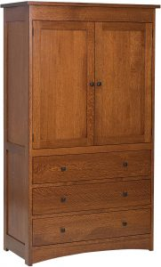 Jacobson Hardwood Armoire
