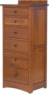 Solid Wood Jacobson Lingerie Chest