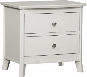 Laurel Two Drawer Nightstand