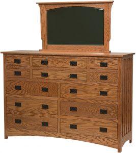Schwartz Mission Twelve Drawer Dresser