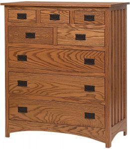 Schwartz Mission 8 Drawer Bureau
