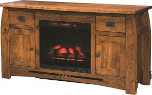 Colebrook Fireplace TV Stand