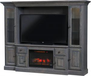 Kincade Fireplace Wall Unit