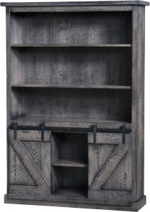 Durango Barn Door Bookcase