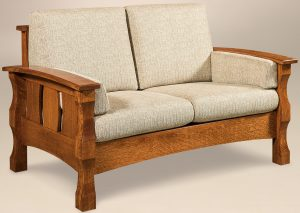 Balboa Slatted Loveseat