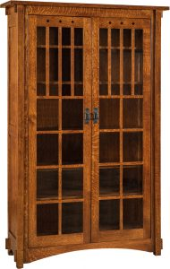 Dynasty Mission XL Two Door Bookcase