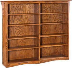 Economy Double Bookcase