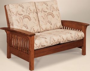 Empire Slatted Loveseat