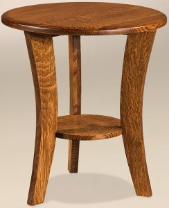 Laurie Round End Table