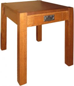 Chuck Mission End Table