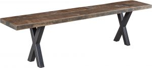 Laredo Rough Sawn Dining Bench