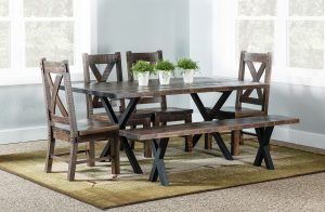 Laredo Trestle Dining Room Set