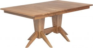 Milan Double Pedestal Dining Table