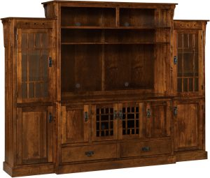 Norway Mission TV Cabinet Wall Unit
